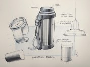 cylindrical objects_marker
