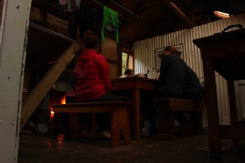 Kamin Te Araroa Neuseeland Fernwanderung