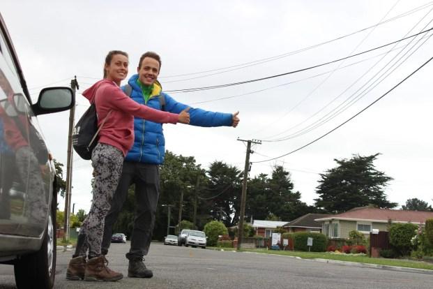 Hitchhiken Neuseeland