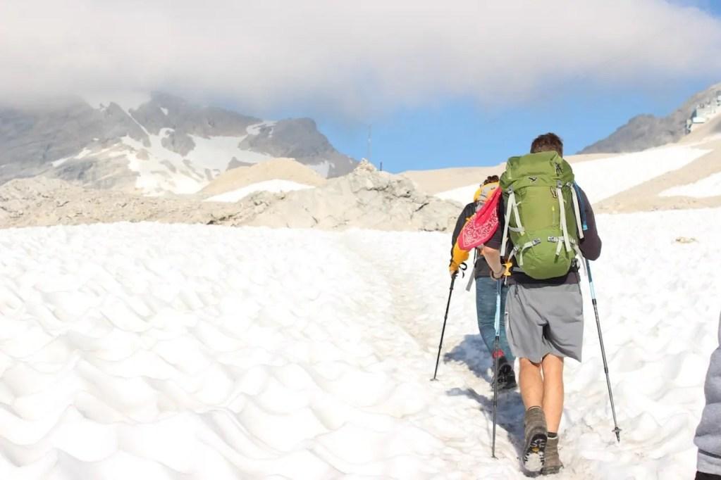 Weg Zugspitze
