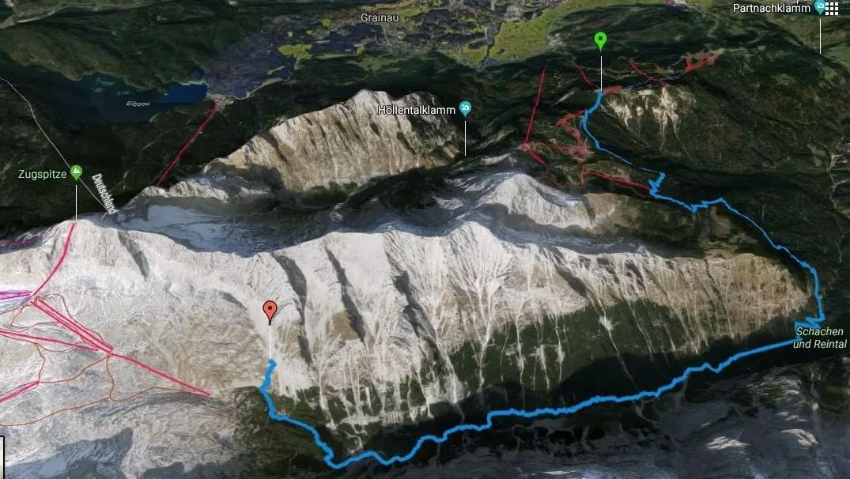 Alpenüberquerung L1 Kreuzeckhaus zur Knorrhütte