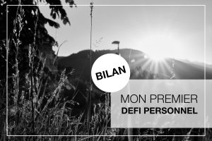 Cover Article - Bilan du premier defi personnel