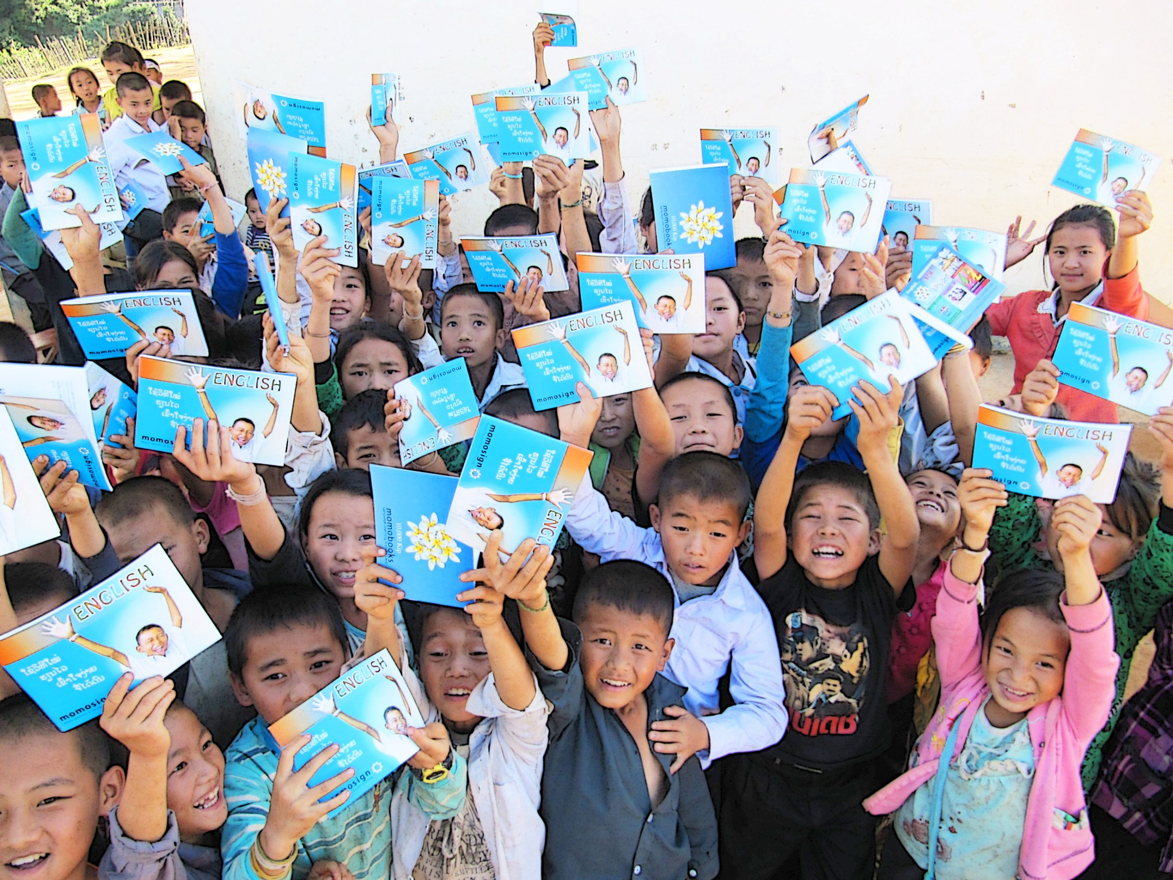 momobooks, books for Laos, Lao Education