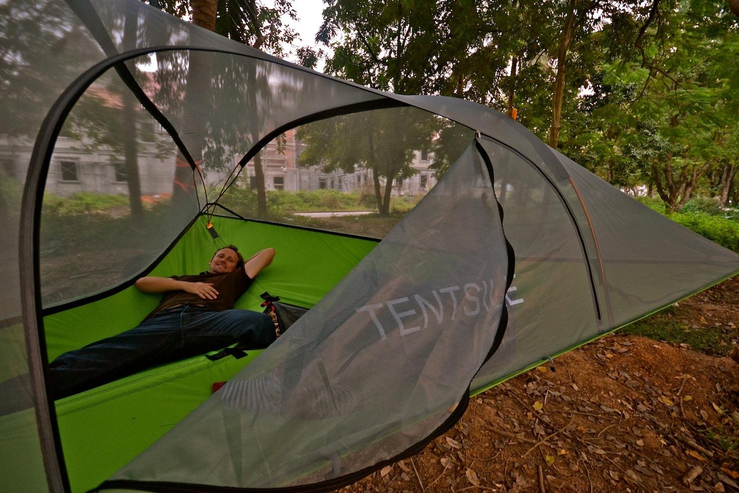 New Tree Tent Tours In Laos Explore Laos
