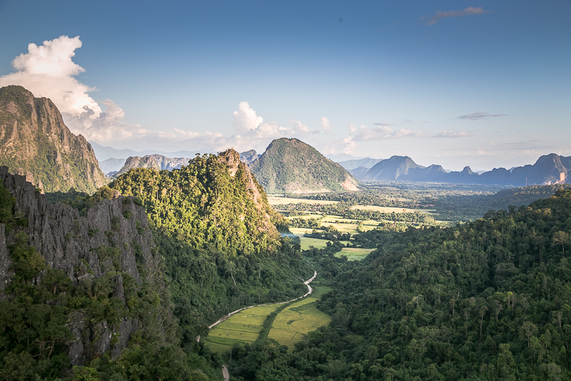 Laos Travel Tip Vang Vieng View Point