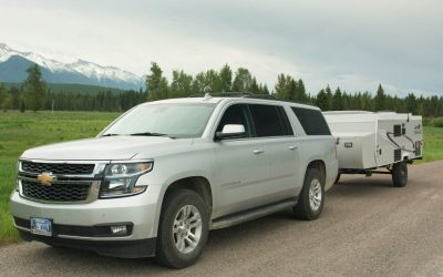 Explore Montana by Camper Trailer