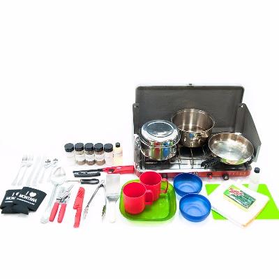 Rental camp cooking kit