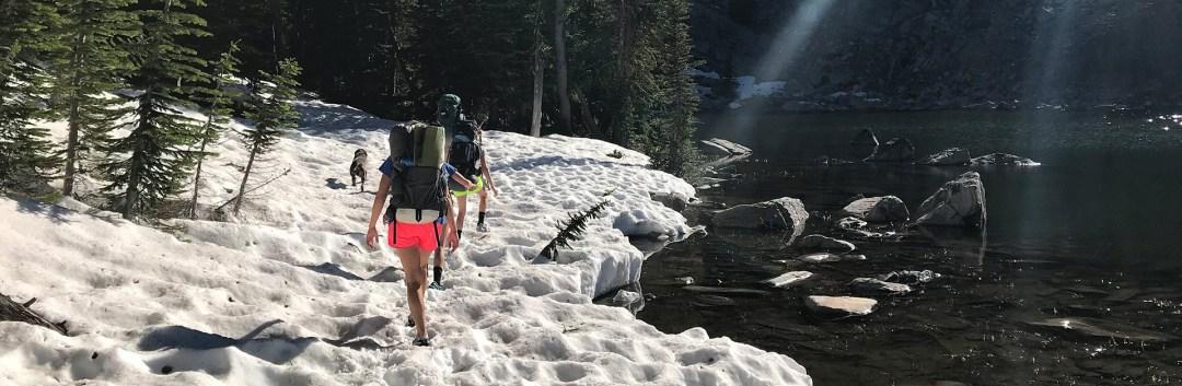 Backpacking Gallatin Mountains