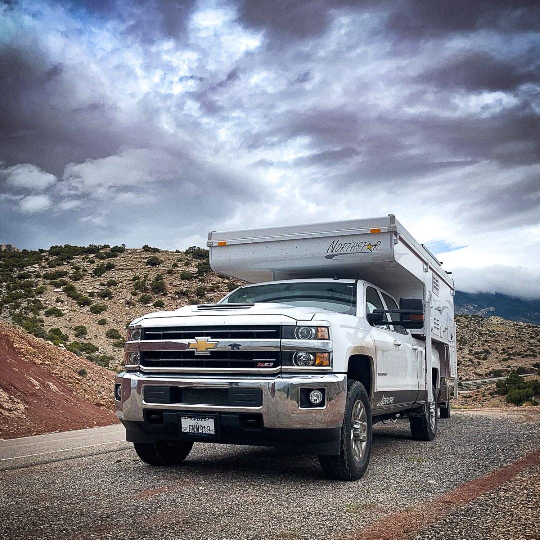 Rental Truck Camper