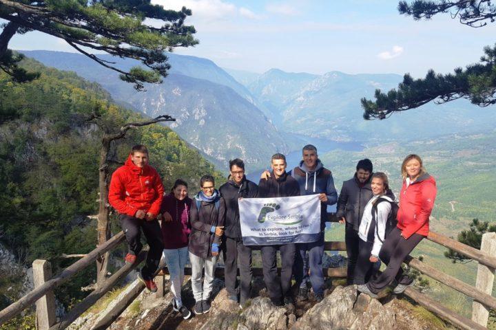 Banjska stena viewpoint at Tara Explore Serbia