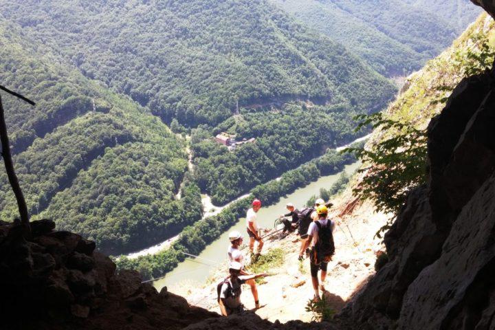 Vie ferrata Kablar, cave Turcinovac