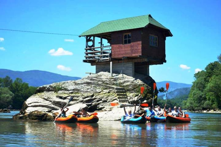 Drina Kayaking