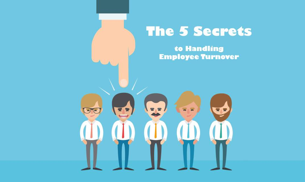 5 Secrets Marketing Managers to handling employee turnover