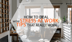 tips to overcome stress at work