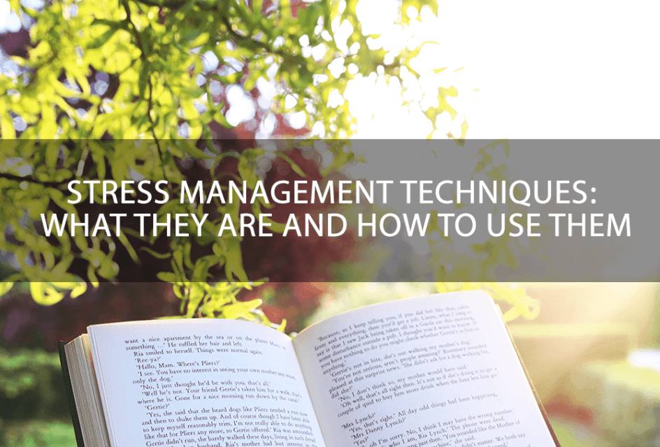 proven and tested stress management techniques