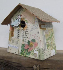 Made By Hand Online Paper Bird Boxes With Jennifer Collier