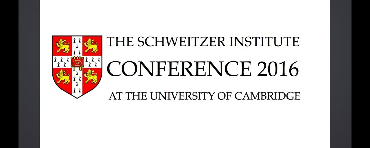 The Schweitzer Institute Conference 2016