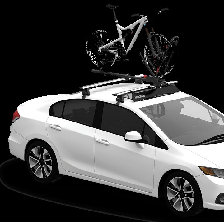 roof bike rack options is yakima the