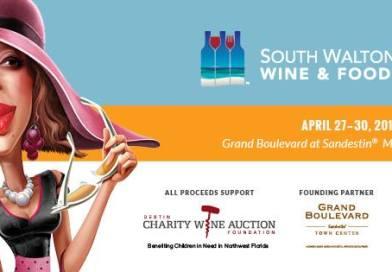 South Walton Beaches Wine & Food Festival | April 27-30, 2017