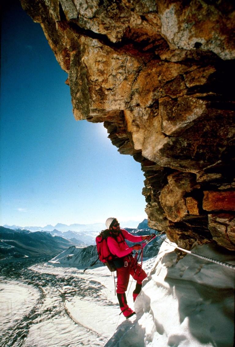 Ed Webster, Stephen Venables l, Kangshung Face, Everest