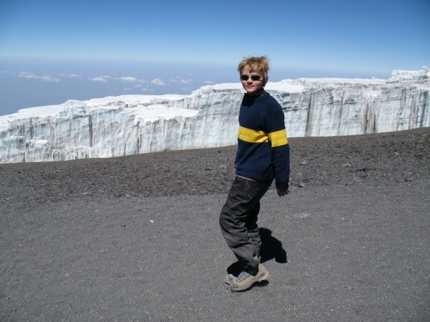 Kilimanjaro, youngest person to climb Westerm Breach, Myles Anderson