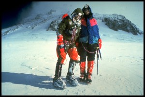 Stephen Venables, Robert Anderson, South Col, Everest