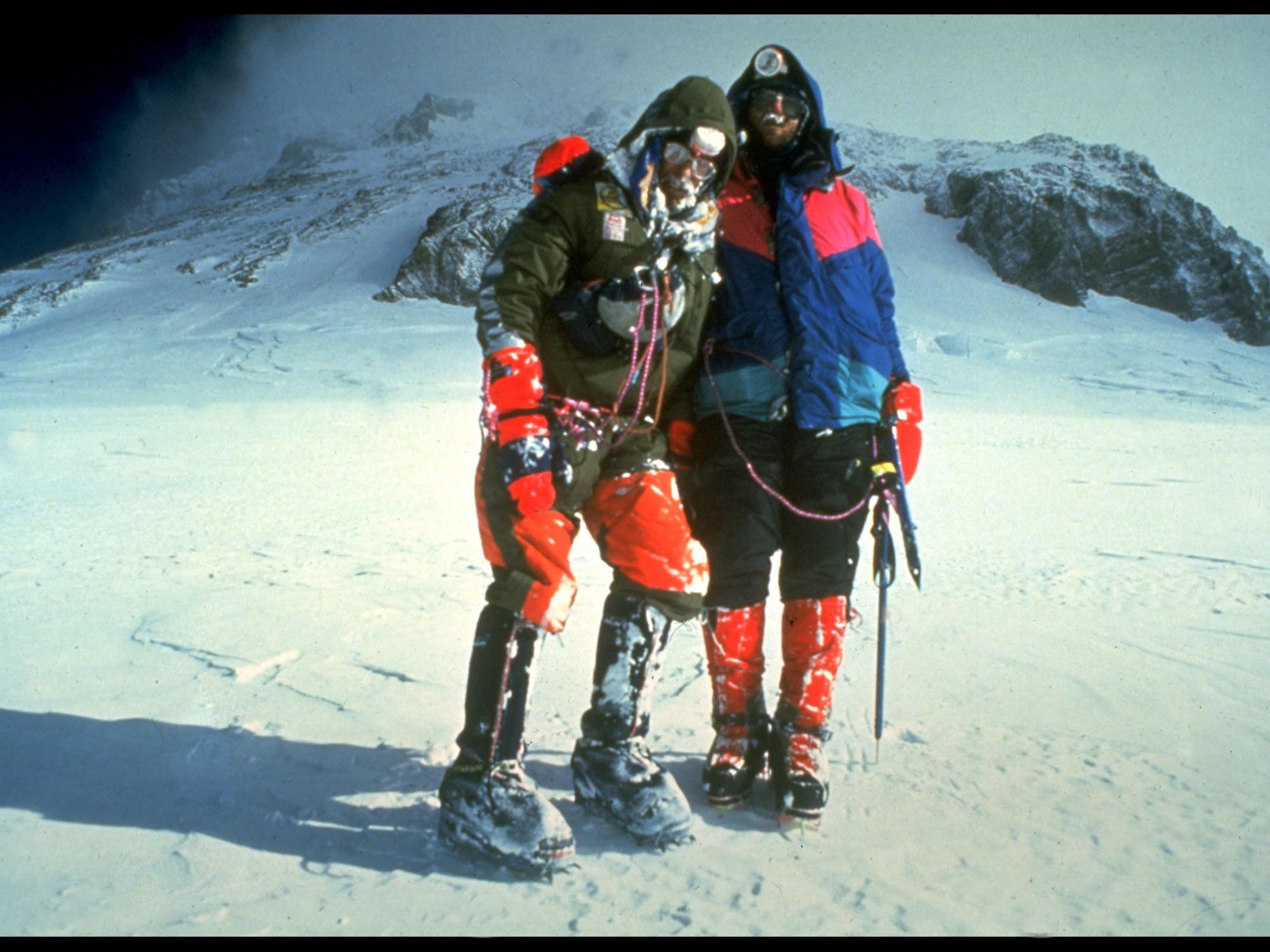 Stephen Venables, Robert Anderson, South Col, Everest