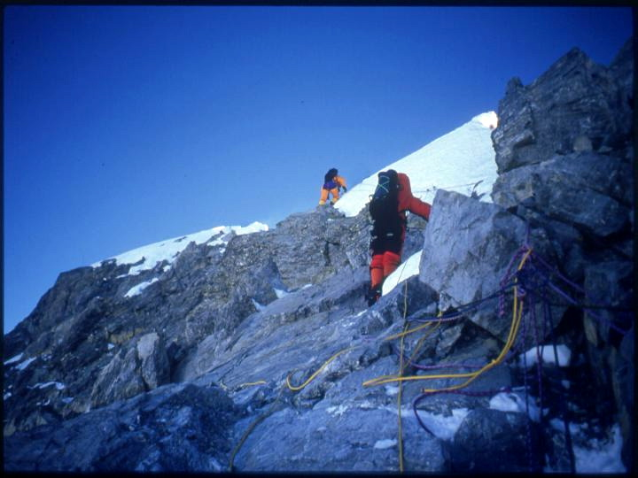 robert Mads Anderson, Sibusisu Vilane, Everest, Hillary step