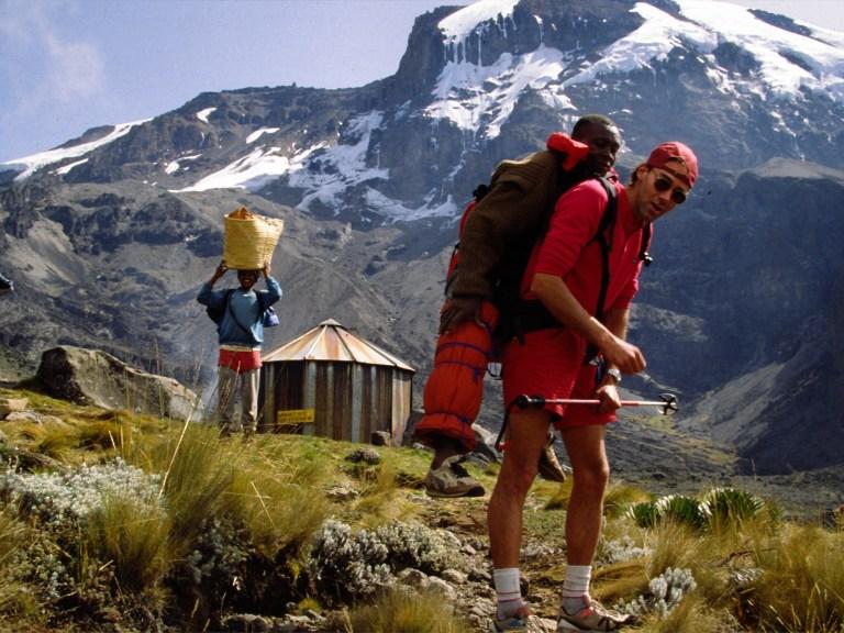 robert mads anderson, 7 summits solo, kilimanjaro, Western breach