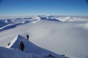 Antarctica, Castle Peak, Vinson