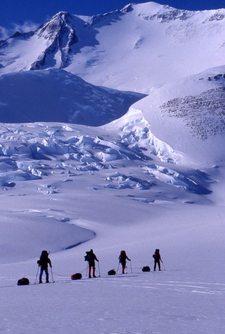 conrad Anker, Jay Smith, Paul Teten, vinson, antarctica