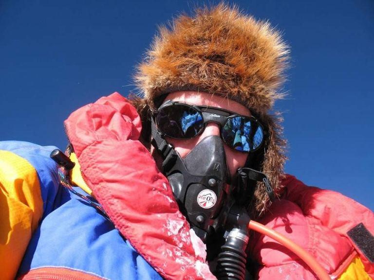 Everest summit, robert mads anderson