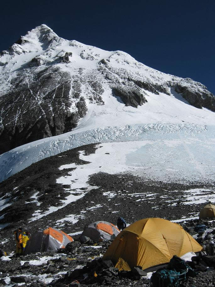 Everest, South Col, South summit