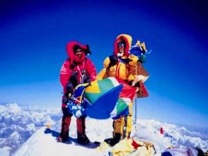 Everest Summit, Sibusisu Vilane, Robert Mads Anderson