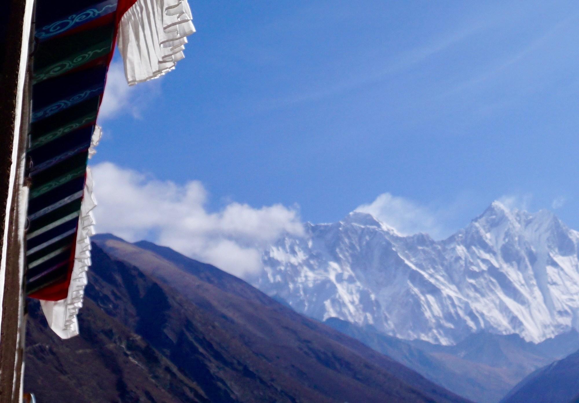 Everest, Lhotse, robert mads anderson, Tangboche Monastery