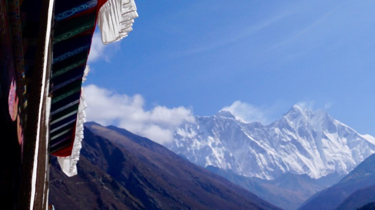 Everest, Lhotse, Tangboche Monastery