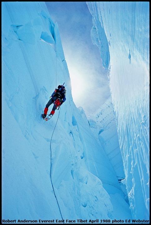 Everest, Kangshung Face, Robert Mads Anderson, Ed Webster