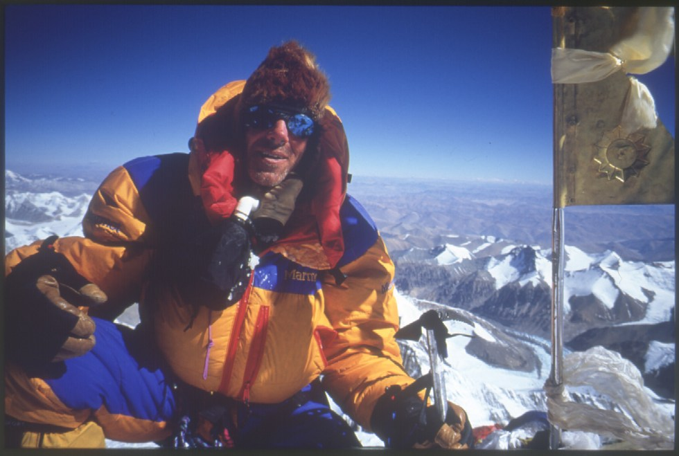 Everest, Summit, Robert Mads Anderson