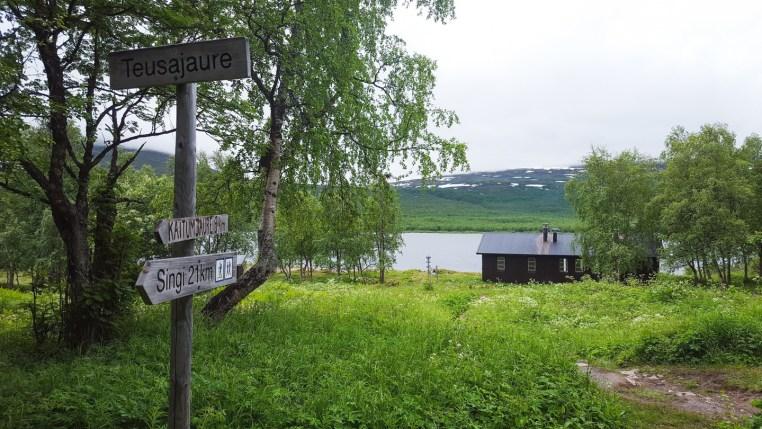 STF cabin - teusajaure - kungsleden