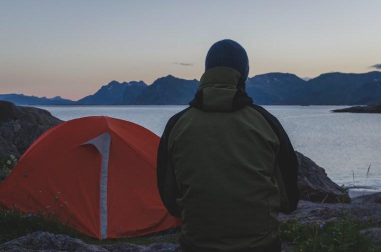 Tälta i Lofoten -Amanda Matti © explorealittlemore.se
