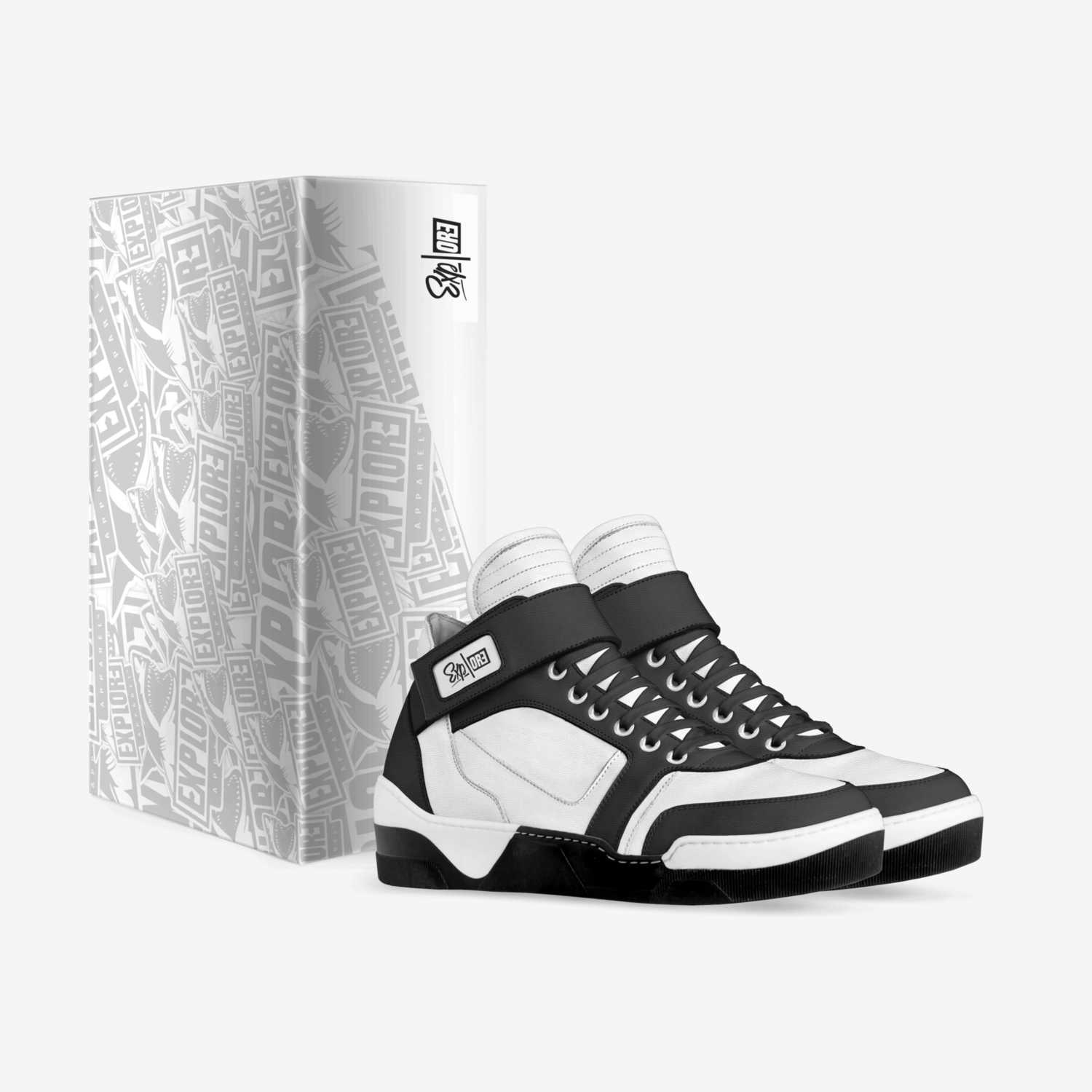 High Top EA UP Leather Shoes Explore Apparel