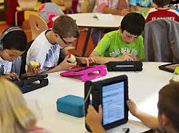 Multiple children with speech generation devices