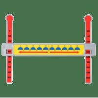 Slide-A-Round Math Manipulative