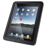 iPad with case