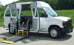 van with ramp