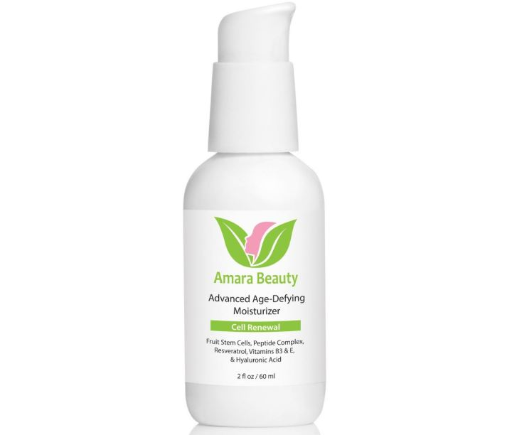 Amara Organics Advanced Age-Defying Moisturizer - Anti-Aging Products On Amazon In 2019