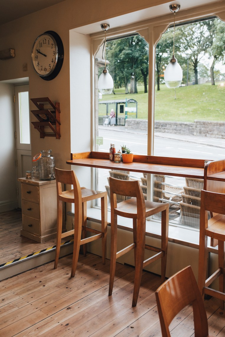 The Cafe at the Green Pavilion in Buxton reopens