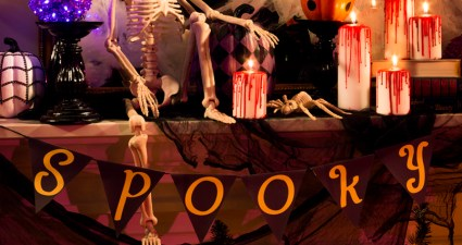 Halloween events in Buxton