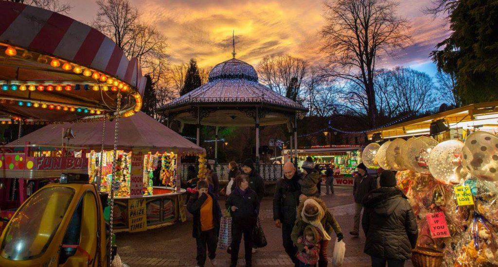 Christmas Market Derbyshire Peak District