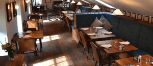 Dining Out at Christmas in the Peak District